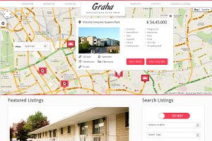 Graha - Real Estate HTML Template