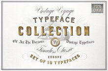 VV Typeface Collection • 70% Off