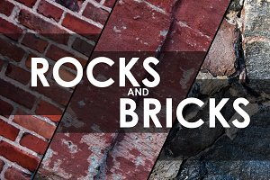 134x Rocks and Bricks Textures Pack
