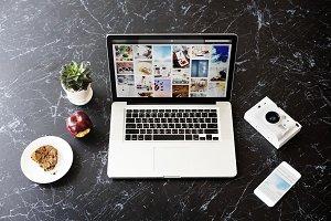 Blog Internet Social Media laptop