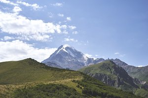 Kazbek mountain