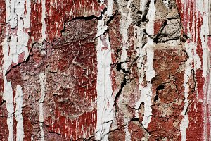 Old damaged wall