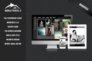 World Travel II - WordPress Theme
