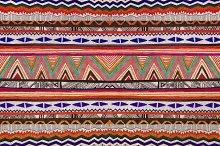 Aztec Folk Tribal seamless pattern
