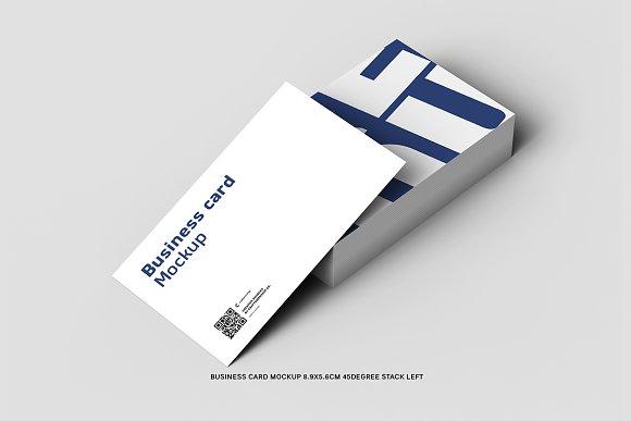 45 Left Business Card 8.9x5.6cm