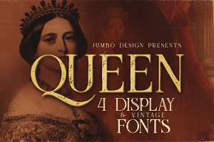 Queen - Display Font