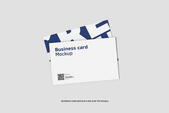 Top Double Business Card 8.9x5.6cm