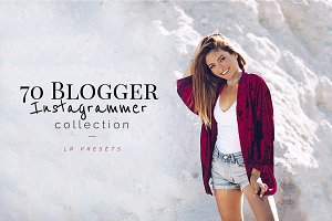 70+ Blogger Instagrammer LR Presets