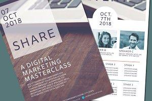 Conference Brochure Mockup