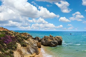 Atlantic coast (Algarve, Portugal).