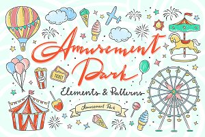 Amusement Park Illustrations
