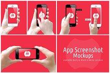 App Screenshot Mockups V1