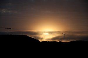 Midnight Sunset in North Iceland