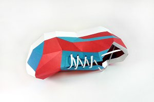 DIY Sports Shoes - 3d papercraft