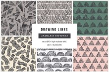 Drawing lines patterns