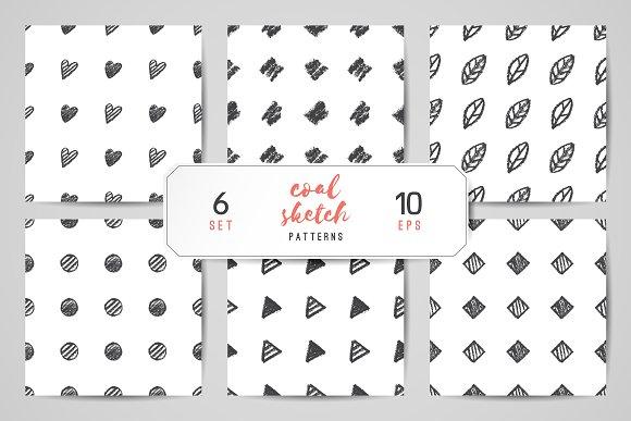 Hand Drawn Seamless Patterns