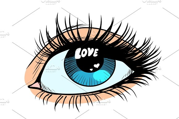 Love Catchlight In The Eye