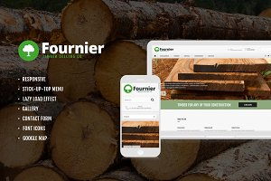 Timber Selling Company Template