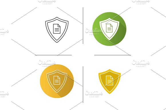 Personal Documents Security Icon