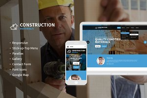 Construction Company HTML Template