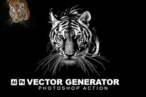 Vector Generator Photoshop Action