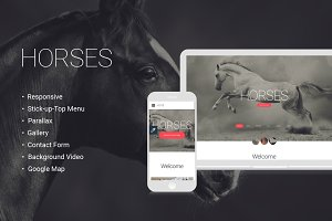 Horsepower Website Template