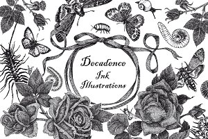 Decadence Ink Illustrations