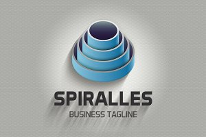 Spiralles Logo Template