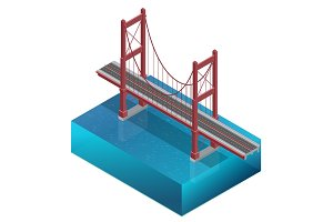 Isometric Bridge construction