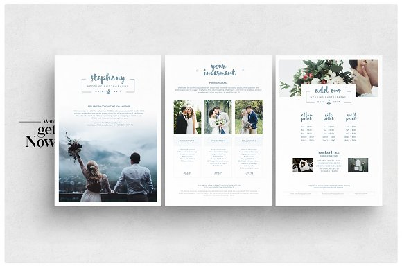 photography pricing guide flyer flyer templates creative market