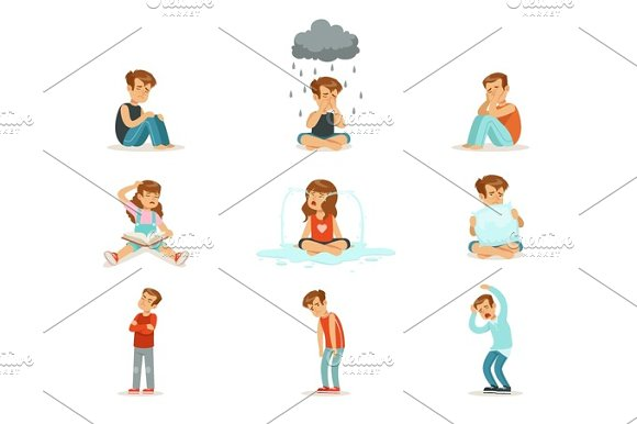 Children Negative Emotions Expression Of Different Moods