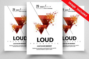 Loud Party Flyer Templates