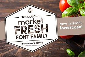 Market Fresh Font Family