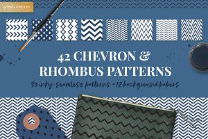 Chevron & Rhombus Patterns
