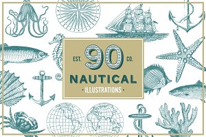Nautical Vintage Illustrations
