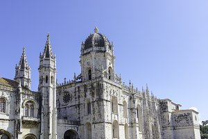 Jeronimos monastery in Lisbon, Portu