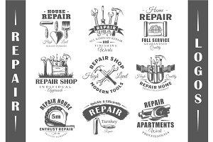 9 Repair Logos Templates Vol.2