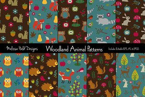 Woodland Animal Patterns