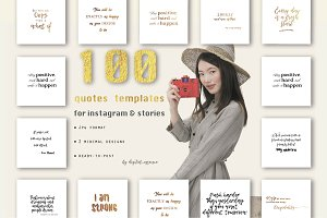 100 quotes templates for instagram