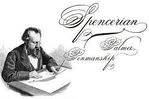 Spencerian Palmer Penmanship PRO