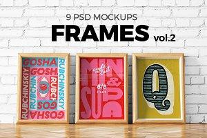 Poster Mockup Set vol.2