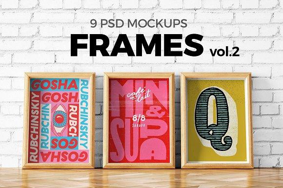 Free Poster Mockup Set vol.2