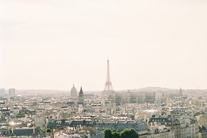 Eiffel Tower View Photograph