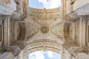 Arch in Lisbon, Portugal