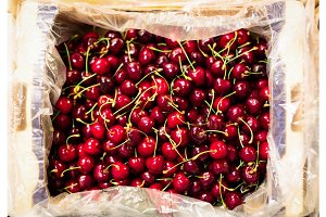 Cherries At The Supermarket