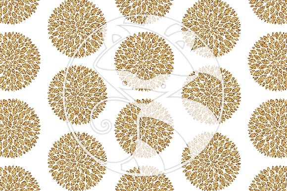 Seamless Glitter Patterns #2 Gold in Patterns - product preview 2