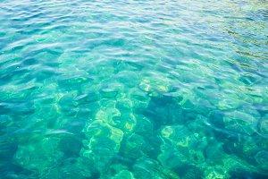 Clear Water On The Mediterranean Sea's Coast