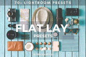 70+ Flat Lay Lightroom Presets Vol.I
