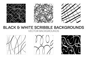 Black & White Scribbles