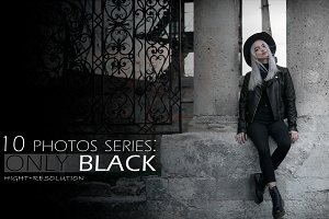 10 Photos Only Black series